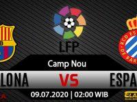 Prediksi Bola Barcelona Vs Espanyol 09 Juli 2020