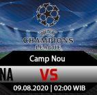 Prediksi Bola Barcelona Vs Napoli 09 Agustus 2020
