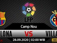 Prediksi Bola Barcelona vs Villarreal 28 September 2020
