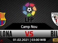 Prediksi Bola Barcelona vs Athletic Bilbao 1 Februari 2021