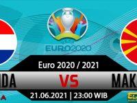 Prediksi Bola Netherlands vs North Macedonia 21 Juni 2021
