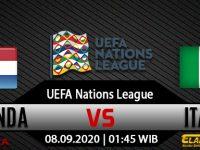 Prediksi Bola Belanda Vs Italia 08 September 2020