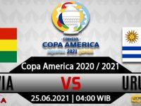 Prediksi Bola Bolivia Vs Uruguay 25 Juni 2021