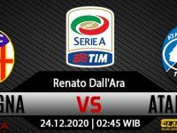 Prediksi Bola Bologna vs Atalanta 24 Desember 2020