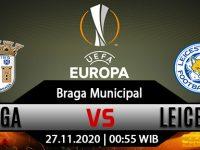 Prediksi Bola Braga vs Leicester City 27 November 2020