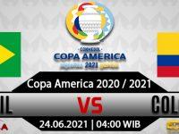 Prediksi Bola Brasil vs Kolombia 24 Juni 2021