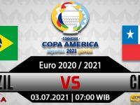 Prediksi Bola Brasil Vs Chile 03 Juli 2021