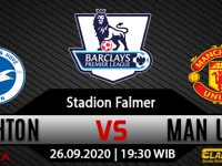 Prediksi Bola Brighton Hove Albion Vs Man United 26 September 2020