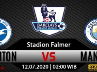 Prediksi Bola Brighton Hove Albion Vs Manchester City 12 Juli 2020
