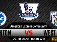 Prediksi Bola Brighton vs West Brom 27 Oktober 2020