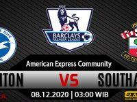 Prediksi Bola Brighton & Hove Albion Vs Southampton 8 Desember 2020