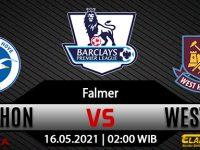 Prediksi Bola Brighton vs West Ham United 16 Mei 2021