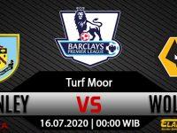 Prediksi Bola Burnley Vs Wolverhampton Wanderers 16 Juli 2020