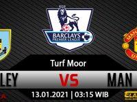 Prediksi Bola Burnley vs Manchester United 13 Januari 2021