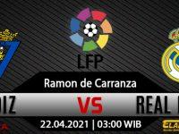 Prediksi Bola Cadiz vs Real Madrid 22 April 2021