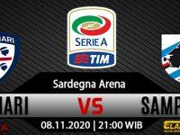 Prediksi Bola Cagliari vs Sampdoria 7 November 2020