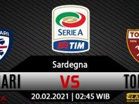Prediksi Bola Cagliari Vs Torino 20 Februari 2021