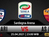 Prediksi Bola Cagliari vs AS Roma 25 April 2021