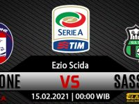 Prediksi Bola Crotone vs Sassuolo 15 Februari 2021