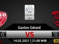 Prediksi Bola Dijon vs Nimes 14 Februari 2021