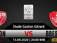 Prediksi Bola Dijon vs Brest 13 September 2020