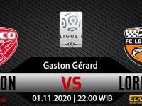 Prediksi Bola Dijon vs Lorient 1 November 2020