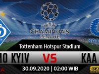 Prediksi Bola Dynamo Kyiv vs KAA Gent 30 September 2020