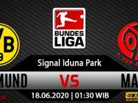 Prediksi Bola Borussia Dortmund Vs FSV Mainz 18 Juni 2020