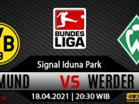 Prediksi Bola Borussia Dortmund vs Werder Bremen 18 April 2021
