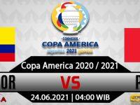 Prediksi Bola Ekuador vs Peru 24 Juni 2021