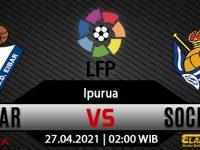 Prediksi Bola Eibar vs Real Sociedad 27 April 2021