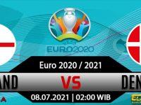 Prediksi Bola Inggris Vs Denmark 08 Juli 2021