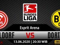 Prediksi Bola F. Dusseldorf Vs Borussia Dortmund 13 Juni 2020