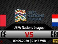 Prediksi Bola Prancis Vs Kroasia 09 September 2020