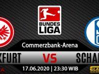 Prediksi Bola Eintracht Frankfurt Vs Schalke 04 17 Juni 2020