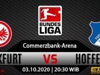 Prediksi Bola Eintracht Frankfurt Vs Hoffenheim 03 Oktober 2020
