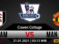Prediksi Bola Fulham Vs Manchester United 21 Januari 2021