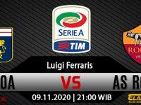 Prediksi Bola Genoa vs AS Roma 8 November 2020