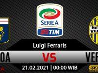 Prediksi Bola Genoa Vs Hellas Verona 21 Februari 2021