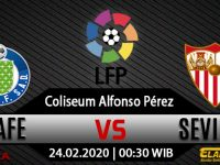 Prediksi Bola Getafe VS Sevilla Senin, 24 Februari 2020