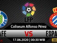 Prediksi Bola Getafe Vs Espanyol 17 Juni 2020