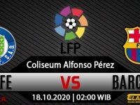 Prediksi Bola Getafe vs Barcelona 17 Oktober 2020