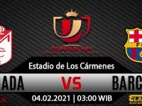 Prediksi Bola Granada vs Barcelona 04 februari 2021