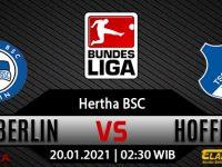 Prediksi Bola Hertha Berlin vs Hoffenheim 20 Januari 2021