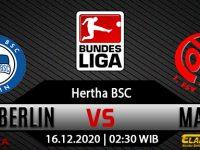 Prediksi Bola Hertha Berlin vs Mainz 05 16 Desember 2020