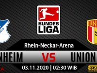 Prediksi Bola Hoffenheim vs Union Berlin 3 November 2020