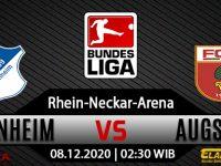 Prediksi Hoffenheim Vs Augsburg 8 Desember 2020