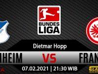 Prediksi Bola Hoffenheim vs Eintracht Frankfurt 7 Februari 2021