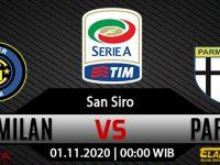 Prediksi Bola Inter Milan vs Parma 1 November 2020