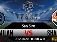 Prediksi Bola Inter Milan vs Shakhtar Donetsk 10 Desember 2020